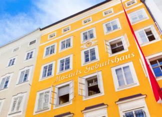 Дом Моцарта в Зальцбурге