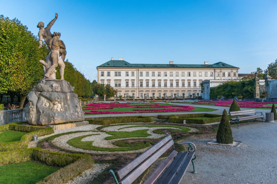 Дворец Мирабель в Зальцбурге