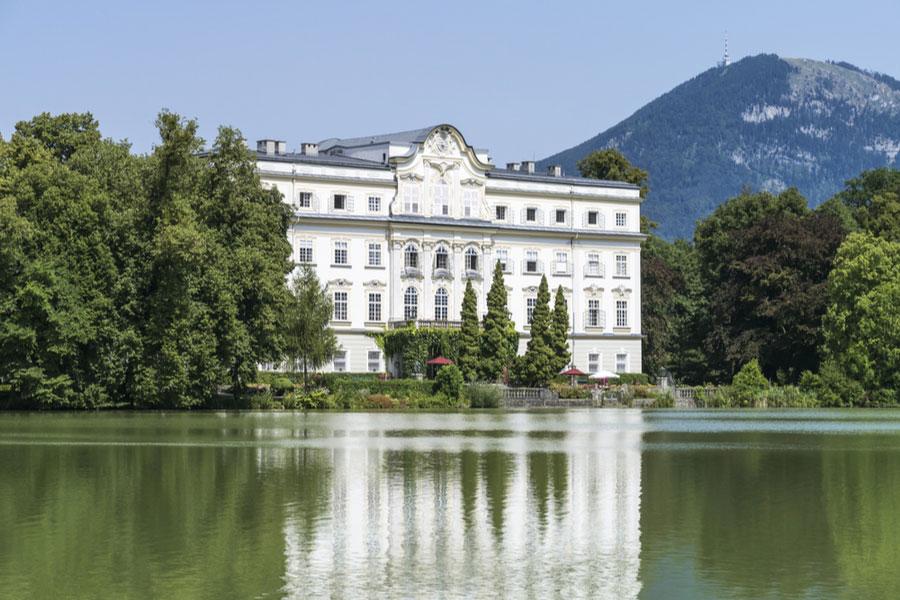 Замок Леопольдскрон в Зальцбурге